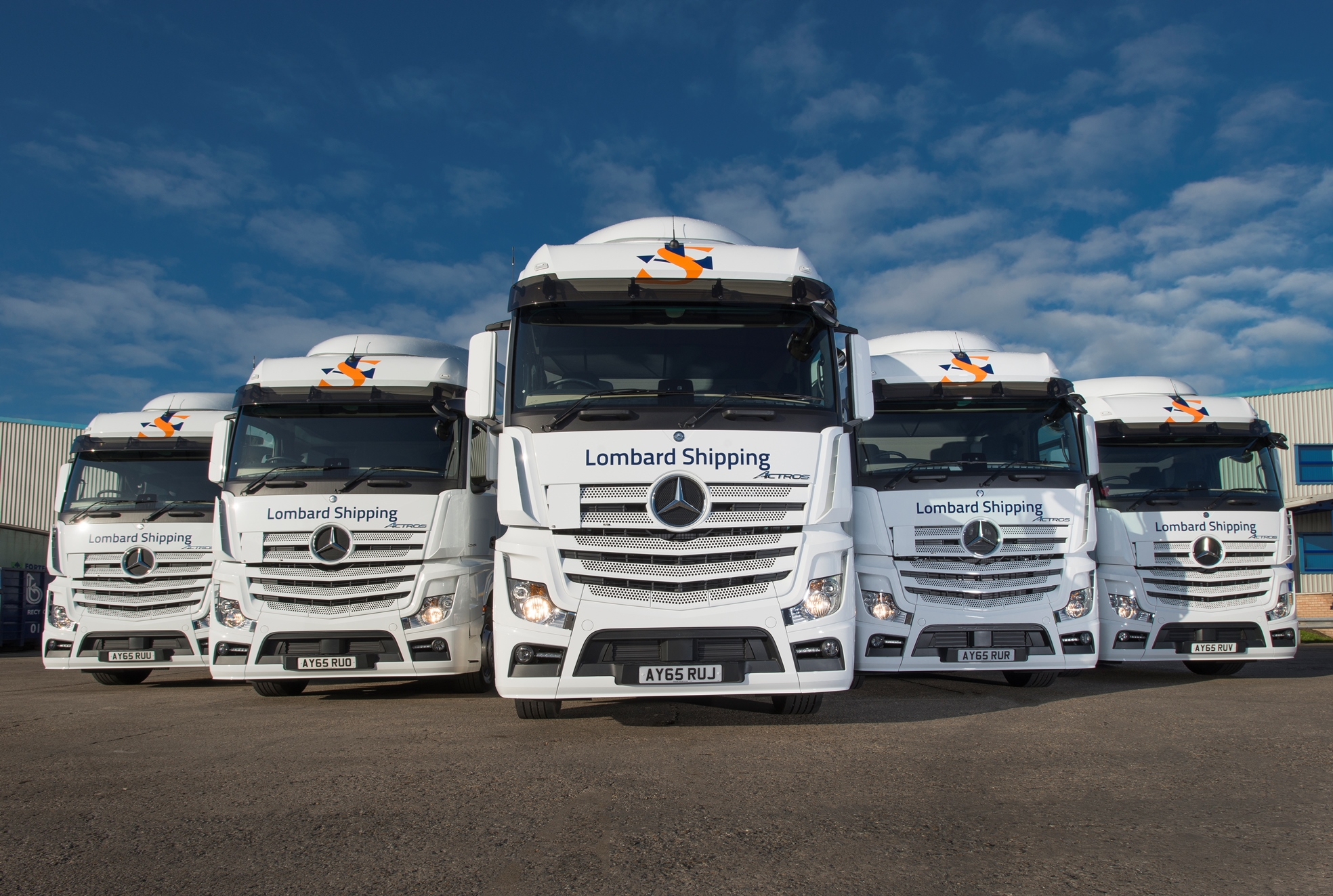 Lombard Shipping sails on with five-star Mercedes-Benz Actros